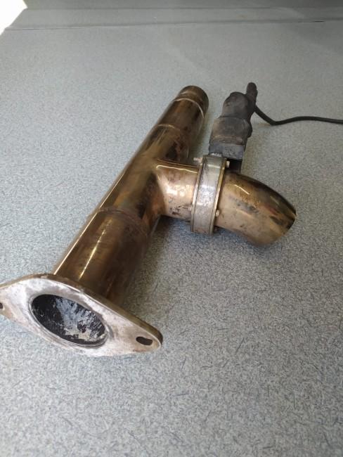 Difusor De Escape Em Aço Inox C/ Acionamento Por Controle e Botão